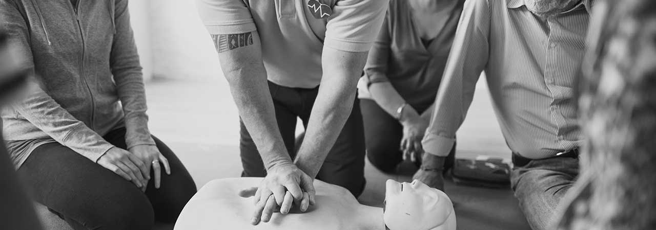 First aid and trainer courses